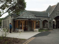 Stone Masons enhance building, renovating its features