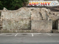 Re constructed retaining wall Chapelhay Weymouth Dorset