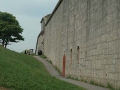 Wall at Nothe Fort Weymouth